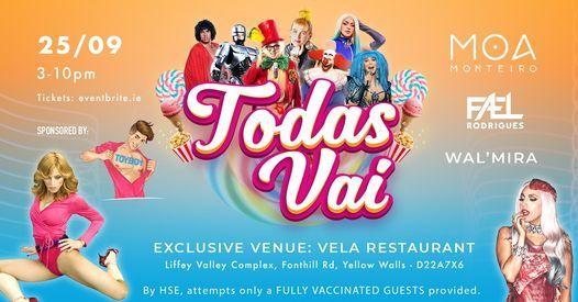 Todas Vai - Brazilian Party, 6 November | Event in Dublin | AllEvents.in