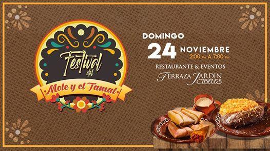 Festival Del Mole Y El Tamal En Terraza Jardín Cibeles At