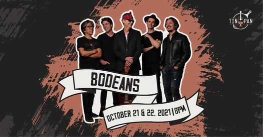 BoDeans at The Tin Pan, 21 October | Event in Richmond | AllEvents.in
