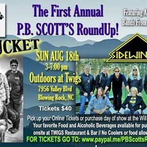 Nantucket and Sidewinder at PB Scotts First Annual Roundup