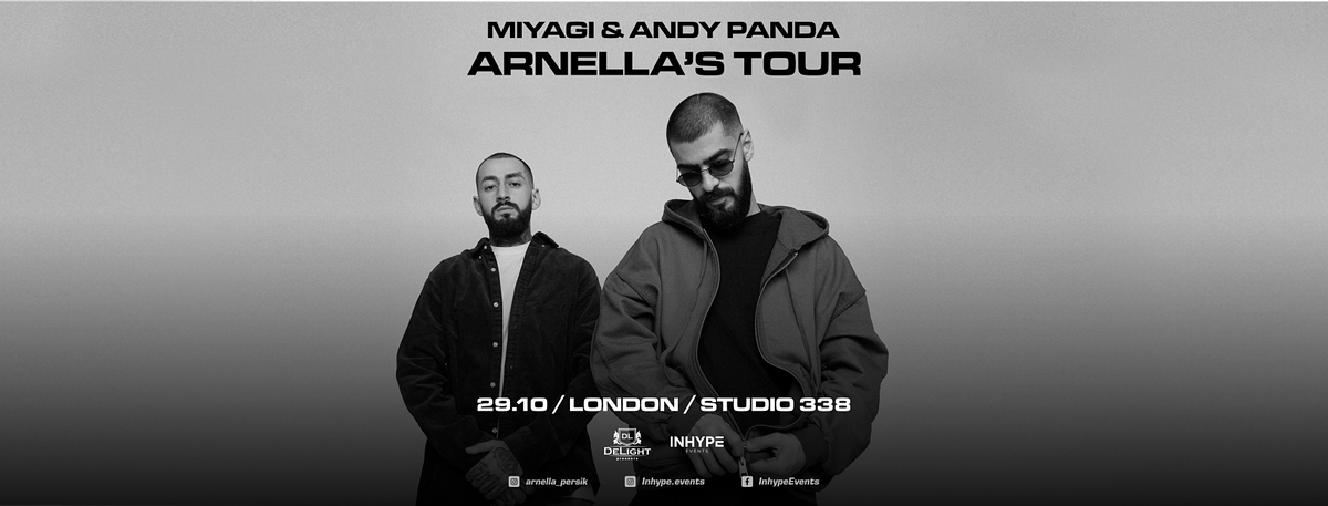 Miyagi & Andy Panda | London |29 October 2021, 29 October | Event in London | AllEvents.in