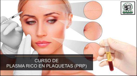 Curso de Plasma Rico en Plaquetas, 3 March | Event in Mexico City | AllEvents.in