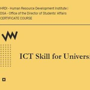 ICT Skill for University Students