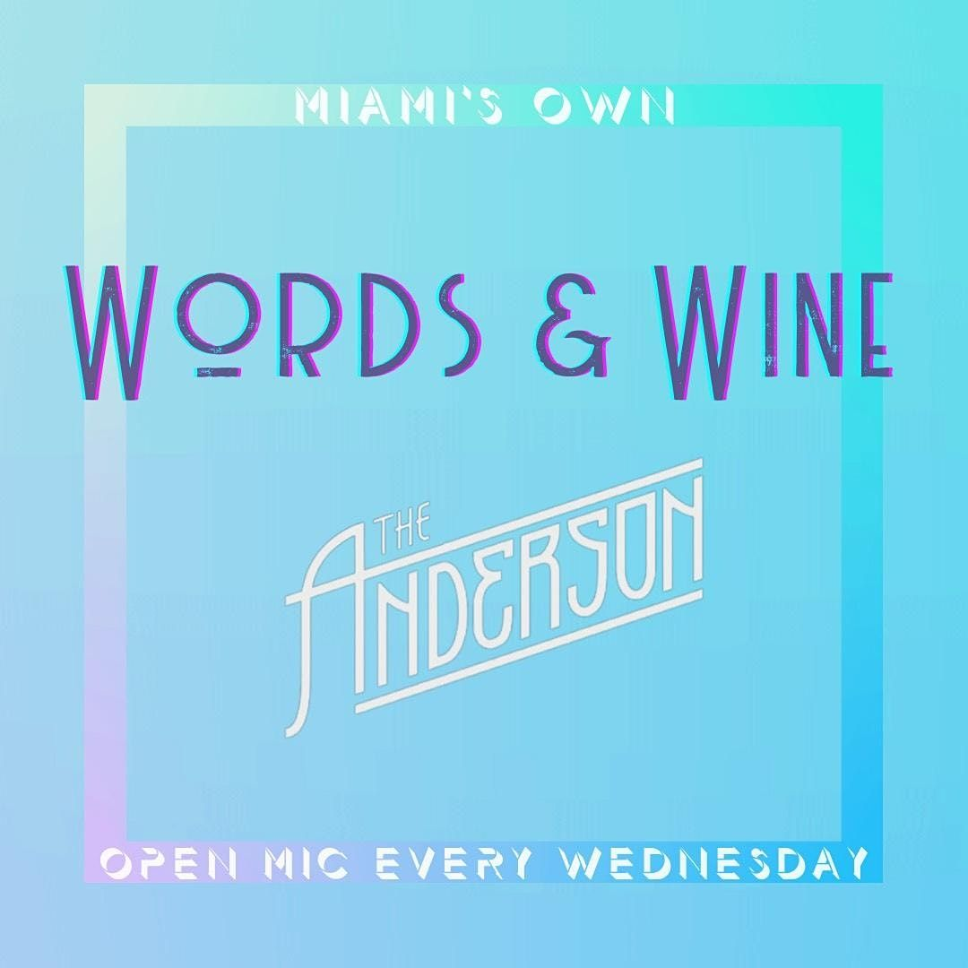 Words & Wine : Open Mic | Event in Miami | AllEvents.in
