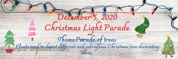 Lighted Christmas Parsde Las Vegas 2020 Christmas Lighted Parade, Silsbee Chamber of Commerce, 5 December