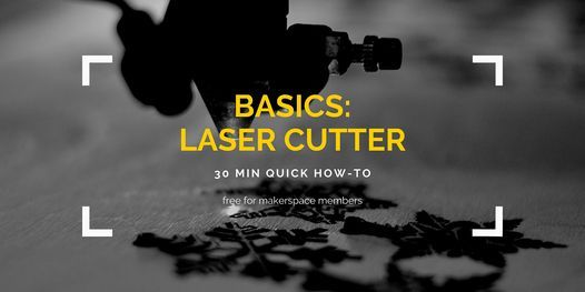 BASICS: Laser Cutter, 14 April | Event in Lacey | AllEvents.in