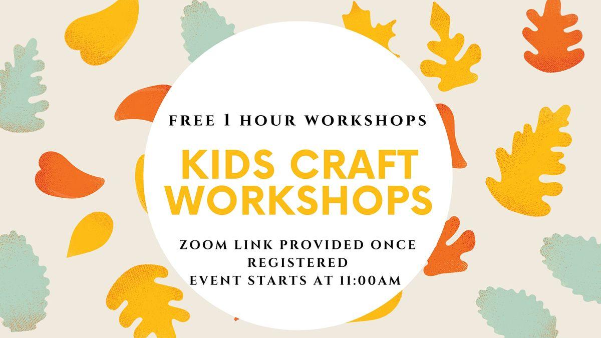 Kids Crafting Workshop | Online Event | AllEvents.in