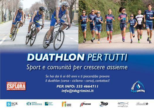 Duathlon per tutti. Sport e comunità per crescere assieme, 1 February | Event in Rimini | AllEvents.in