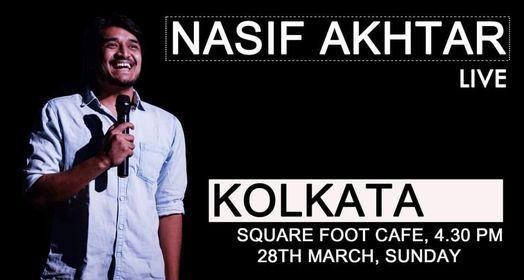 Nasif Akhtar Live in Kolkata, 25 April | Event in Kolkata | AllEvents.in