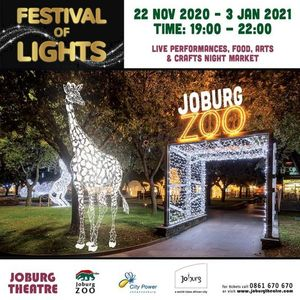 Festival of Lights at Joburg Zoo