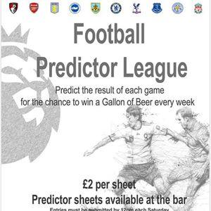 Ancient Oak Football Predictor League at Ancient Oak, Preston