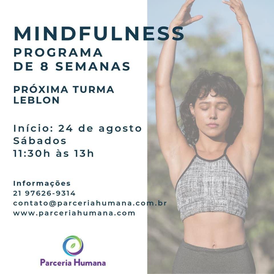 Programa de Mindfulness 8 Semanas - Leblon - RJ