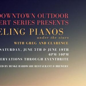 Downtown Outdoor Concert Series with DUELING PIANOS