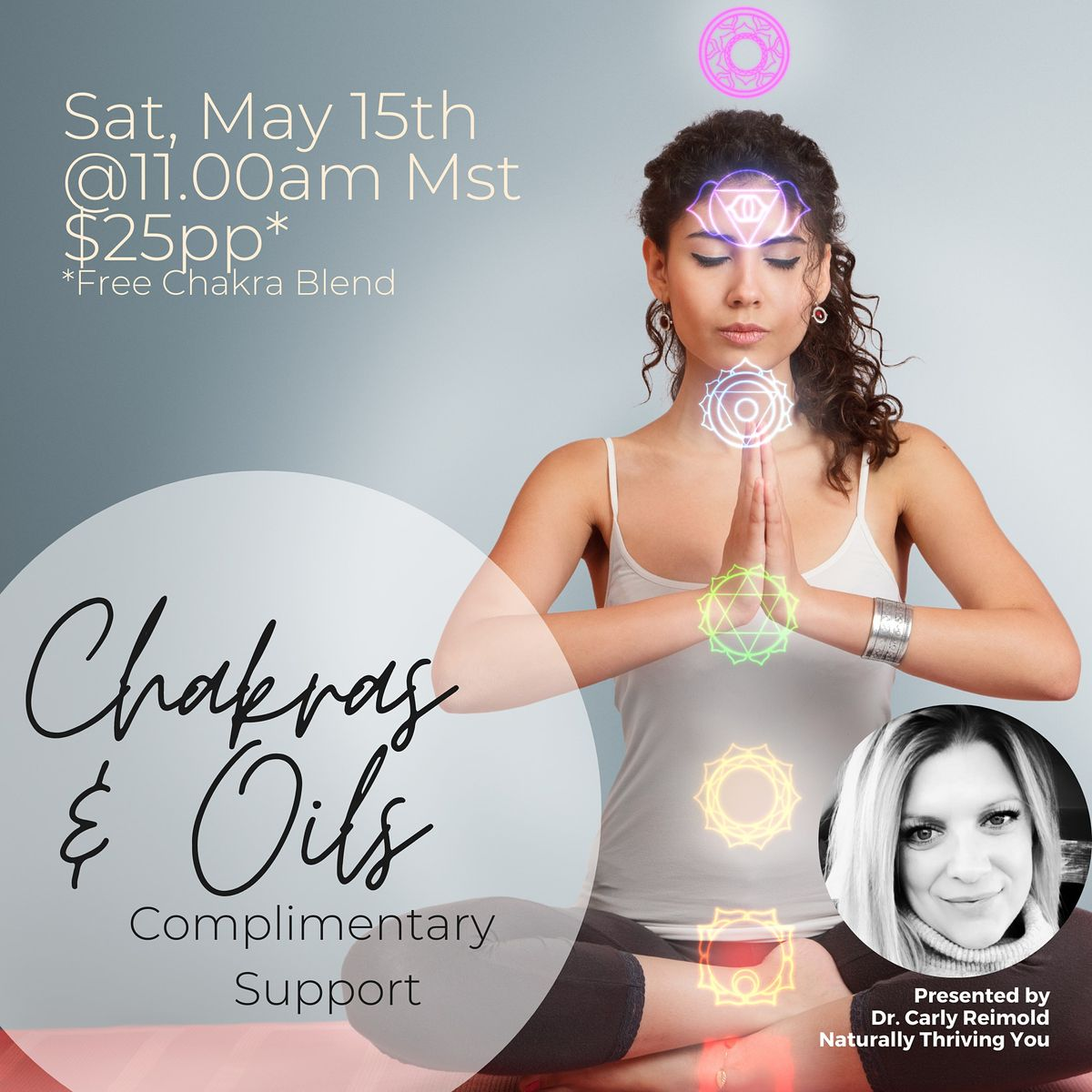CHAKRAS & OILS: Complimentary Support | Event in Calgary | AllEvents.in