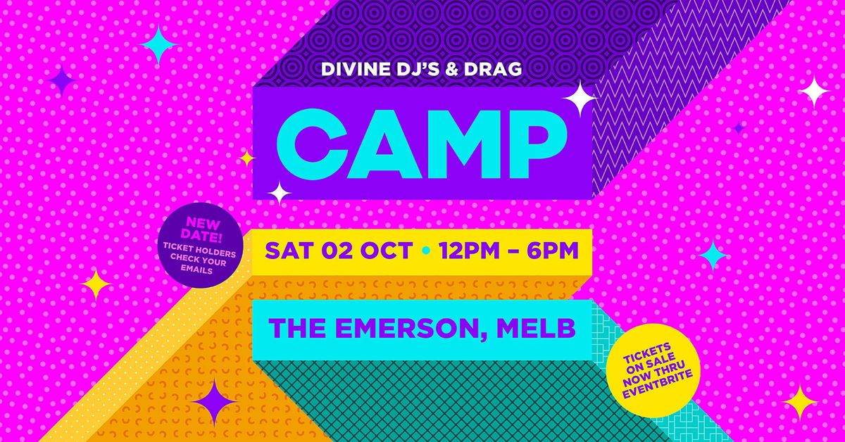 CAMP: Melbourne (Sat June 19) | Event in South Yarra | AllEvents.in