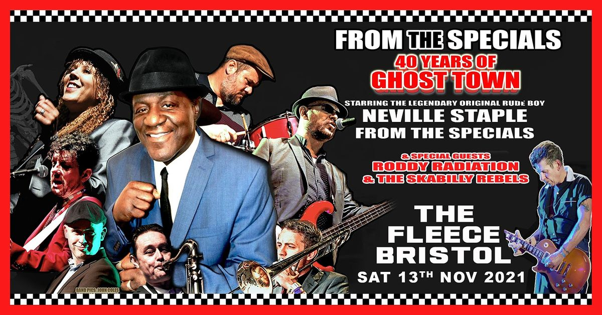 Neville Staple + The Emperials, 13 November   Event in Bristol   AllEvents.in