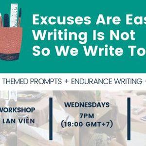 IWN Weekly Creative Writing Workshop (FREE)