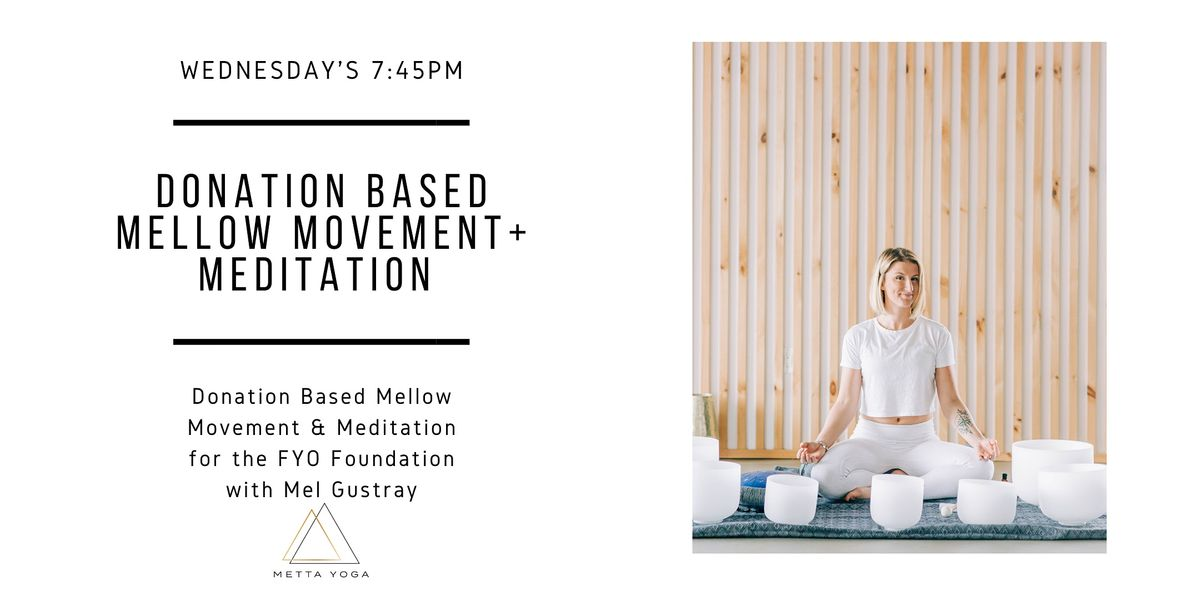 Donation Based Mellow Movement + Meditation | Event in Neptune | AllEvents.in