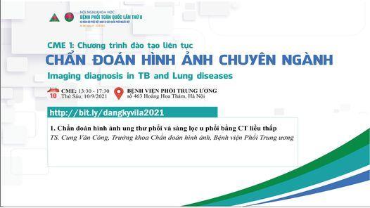 CME1: Chẩn đoán hình ảnh chuyên ngành, 10 September   Event in Hanoi   AllEvents.in