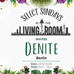 Select Sundays in The Living Room Invites Denite (Ber)