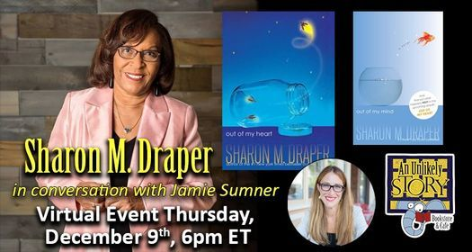 ONLINE: Sharon M. Draper with Jamie Sumner, 10 November | Online Event | AllEvents.in