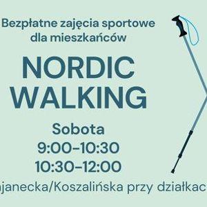 NORDIC WALKING - bezpatne zajcia dla mieszkacw