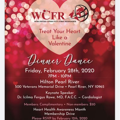 "WCFR &quotTreat Your Heart Like a Valentine"" Dinner Dance"
