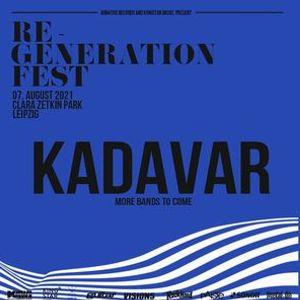 2021 Verlegt Re-Generation Fest Kadavar Open Air Leipzig