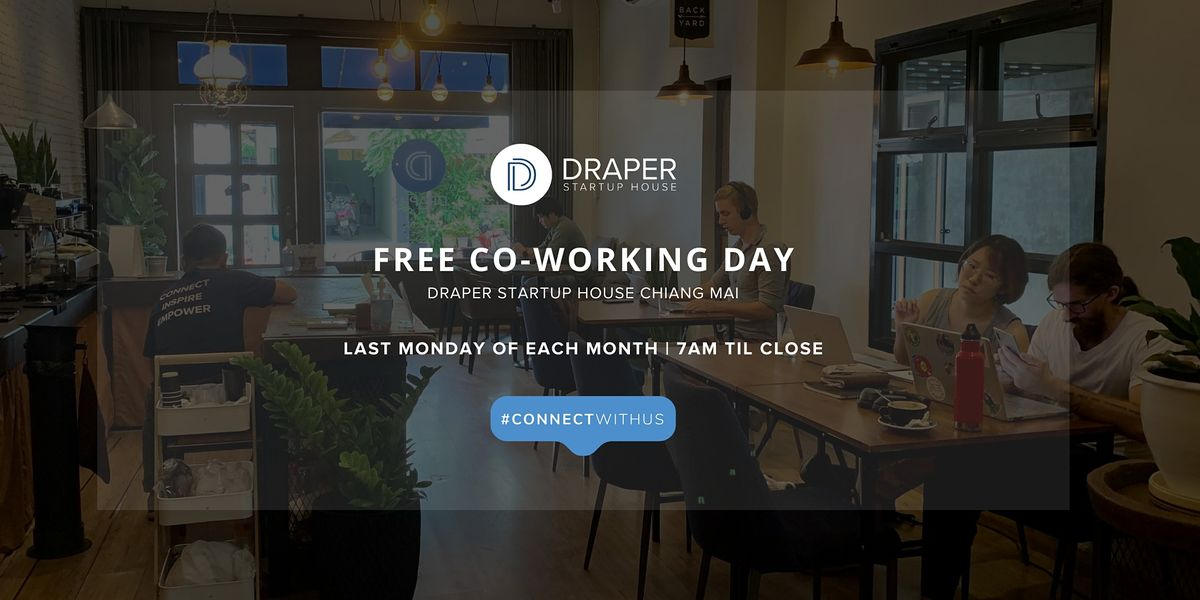 Free Coworking Day | Event in ตำบลสุเทพ | AllEvents.in
