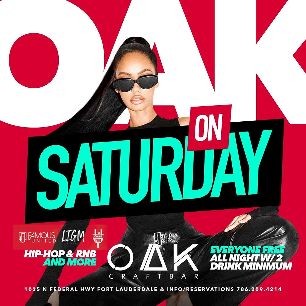 OAK ON SATURDAYS   Event in Fort Lauderdale   AllEvents.in