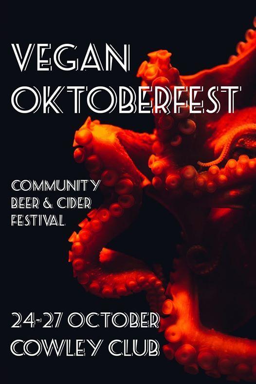 Vegan Oktoberfest - Brighton Beer&Cider Festival