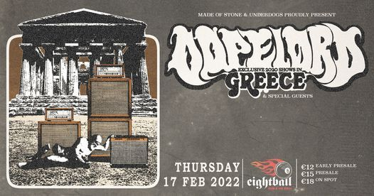 Dopelord [PL] live in Thessaloniki