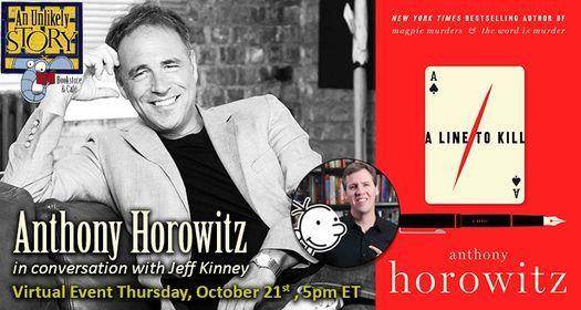 ONLINE: Anthony Horowitz, 21 October | Online Event | AllEvents.in
