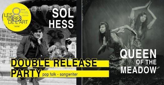 Les Vivres de l'Art • Sol Hess (release party), 14 May | Event in Bordeaux | AllEvents.in