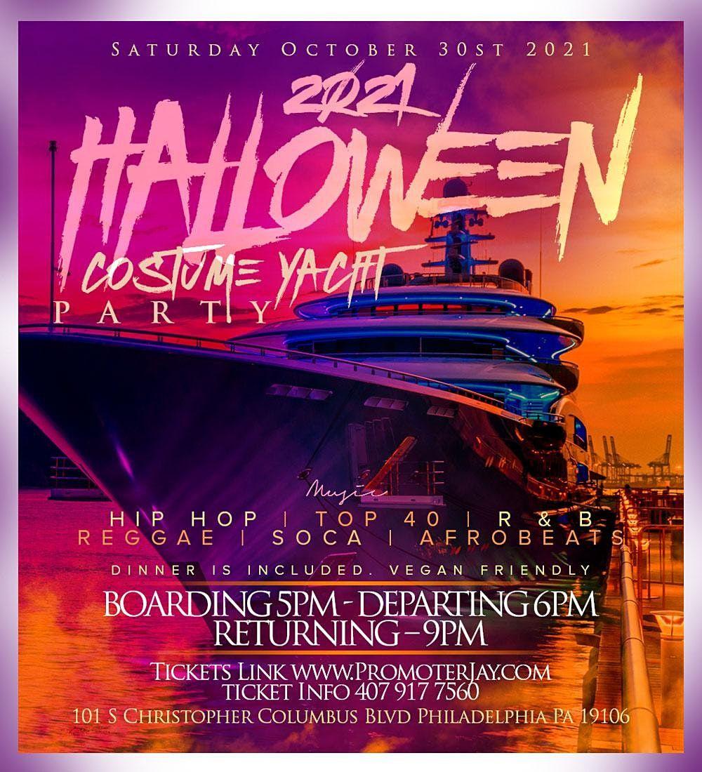 2021 Halloween Costume Yacht Party, 30 October | Event in Philadelphia | AllEvents.in