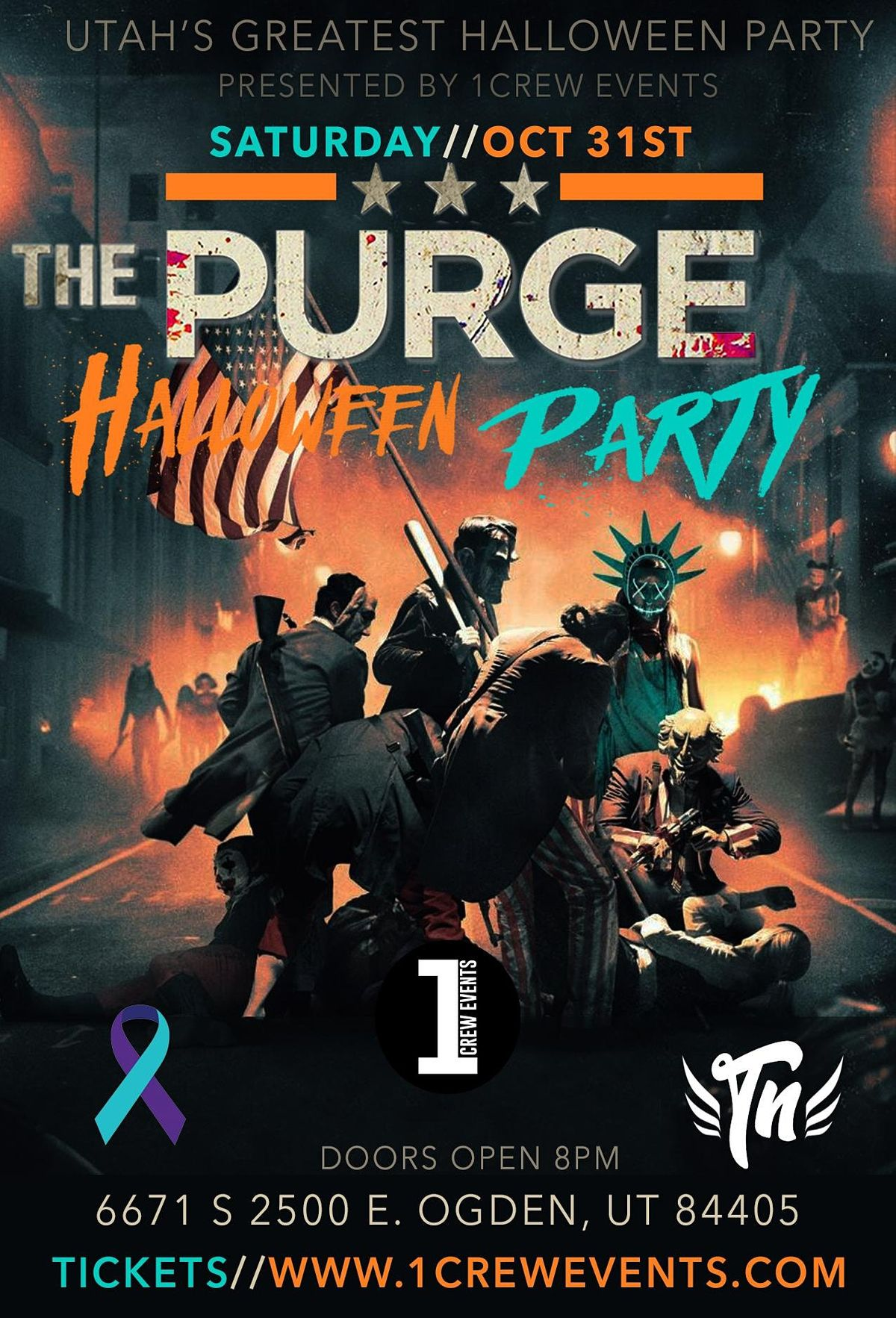Halloween Party Oct 31, 2020 Near Me The Purge Halloween Party, Sat Oct 31 2020 at 08:00 pm