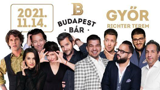 Budapest Bár koncert / Győr, Richter Terem, 14 November | Event in Gyor | AllEvents.in