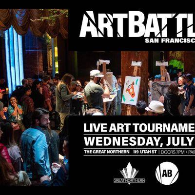 Art Battle San Francisco - July 21 2021