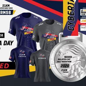 Cyberjaya Malaysia Day Half Marathon 2020