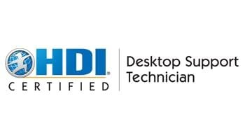 HDI Desktop Support Technician 2 Days Training in Houston TX
