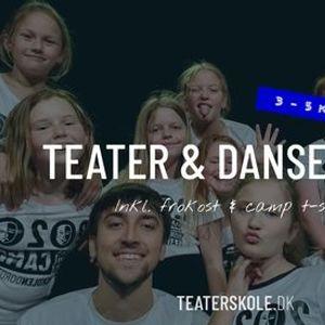 Teater & dansecamp  3 - 5 kl  uge 26