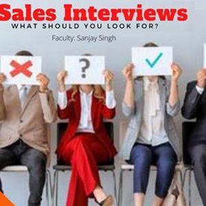 Webinar - Sales Interviews