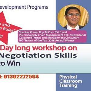 2 Day long workshop on Negotiation Skills (Class room Training