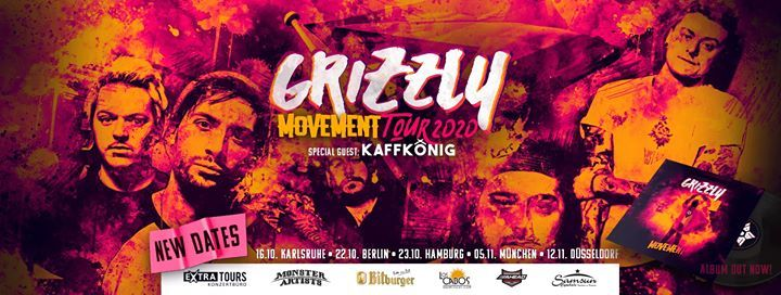 Grizzly  Mnchen  Movement Tour 2020