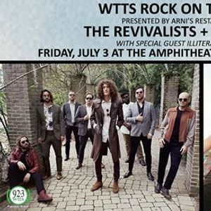 The Revivalists (New Date) - WTTS Rock on the River