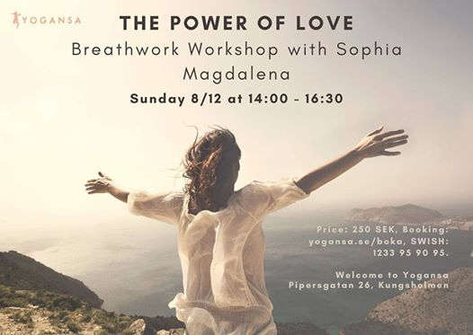 The Power of Love - a Breathwork Workshop with Sophia