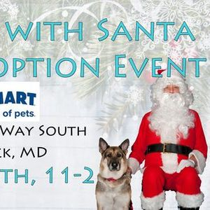 Photos with Santa & Adoption Event - Frederick MD