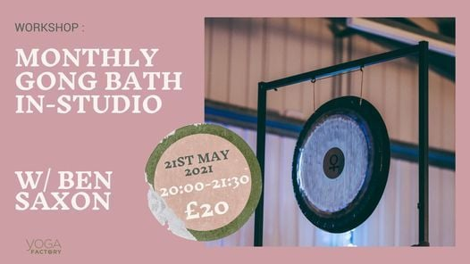 Gong Bath- IN STUDIO, 21 May   Event in Southend-on-Sea   AllEvents.in