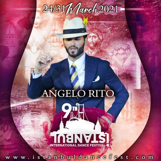 Angelo Rito Salsa Musicality Choreo BootCamp Istanbul, 26 March | Event in Istanbul | AllEvents.in