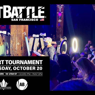Art Battle San Francisco - October 20 2021